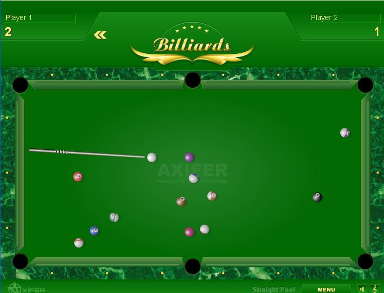 bilardo oyunu oyna